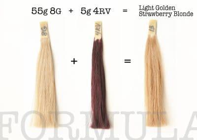 LIGHT GOLDEN STRAWBERRY BLONDE