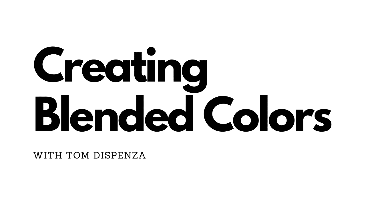 Creating Blended Colors